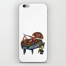 Every morning Jack plays the piano! iPhone Skin
