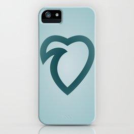 wavelove iPhone Case