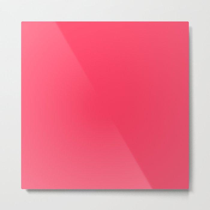 Sugar Heart (Pink) Color Metal Print