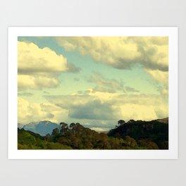 Ben Nevis Range Art Print