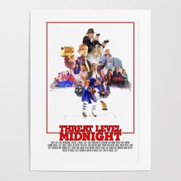 The Office - Threat Level Midnight Poster