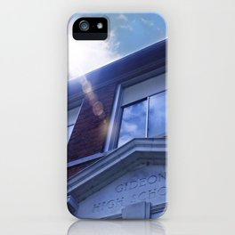 Gideon High School  iPhone Case