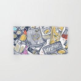 Artistic Mixture Of Sexy Makeup Hand & Bath Towel