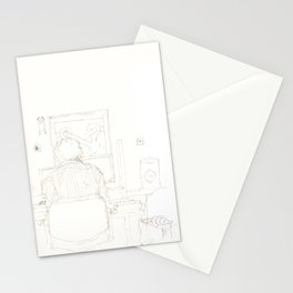 Composition of a composer Stationery Cards
