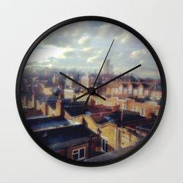 London roof top. Wall Clock