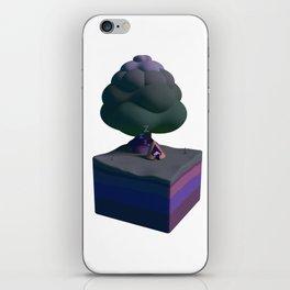Sleepy Monster iPhone Skin