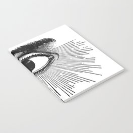 I See You. Black and White Notebook