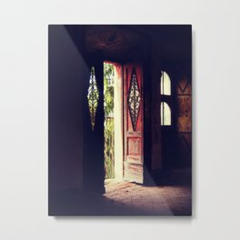 At the Castle Metal Print