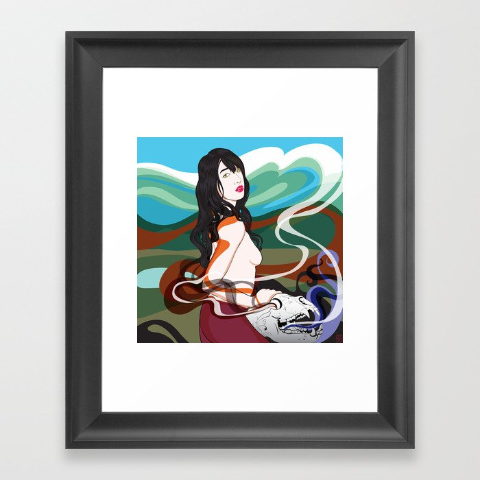 Talisman Framed Art Print