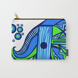 The Blue Elephant Carry-All Pouch