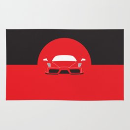 Minimal Enzo Ferrari Rug