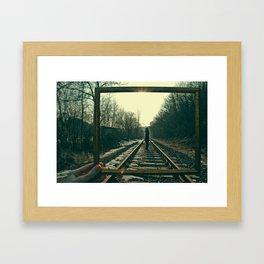 Making my life art Framed Art Print