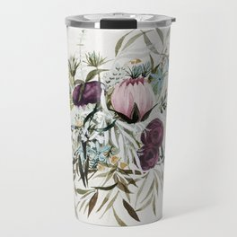 Rustic and Free Bouquet Travel Mug