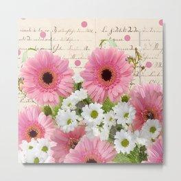 Bonanza of Flowers Metal Print