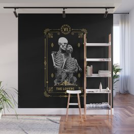 The Lovers VI Tarot Card Wall Mural