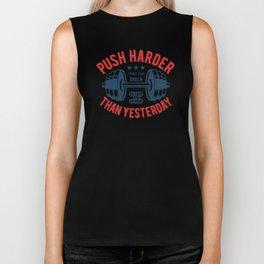 Push Harder Biker Tank