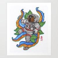 Astropus Art Print