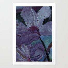Sunset Bloom Art Print