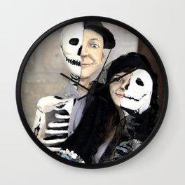 Halloween - Half Dead Lovers Wall Clock