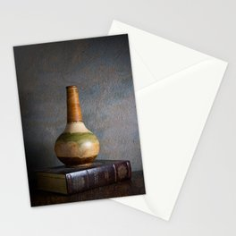 Vase and Book Stationery Cards