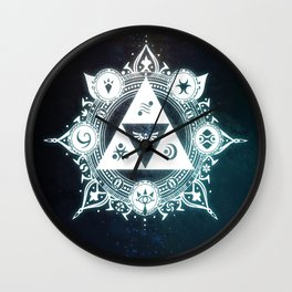 The triforce Power Wall Clock