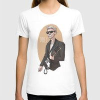 the dude T-shirts featuring DUDE! by Adrianna Ojrzanowska