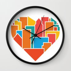 Livin' for the City Wall Clock