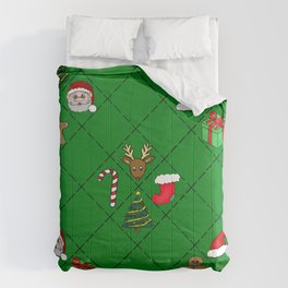 Christmas Pattern Comforters