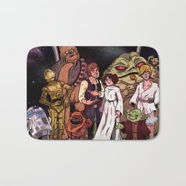 The force is with us! Bath Mat