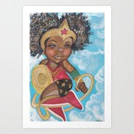 Lil Wonder Art Print