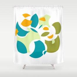 Circular Dismantle Shower Curtain