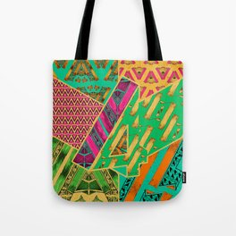 Tile 4 Tote Bag