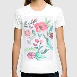 Watercolor Floral Arrangement II T-shirt