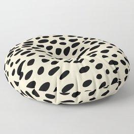 Light Brown Cheetah Pattern Floor Pillow