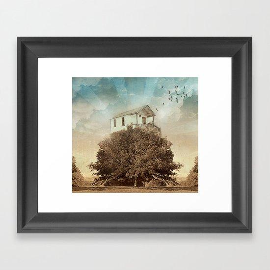 Tree House Framed Art Print