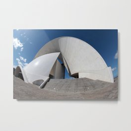 Music hall of Tenerife island 2 Metal Print