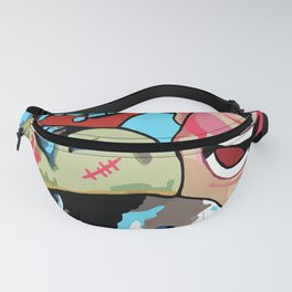 Astronomical Collage Fanny Pack