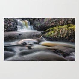 Dreamy Sgydau Sychryd Waterfalls Rug