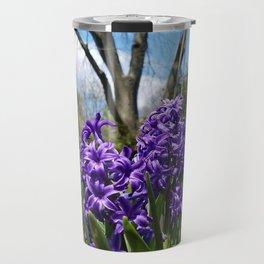 Hyacinth Flowers - The Essence of Spring Travel Mug