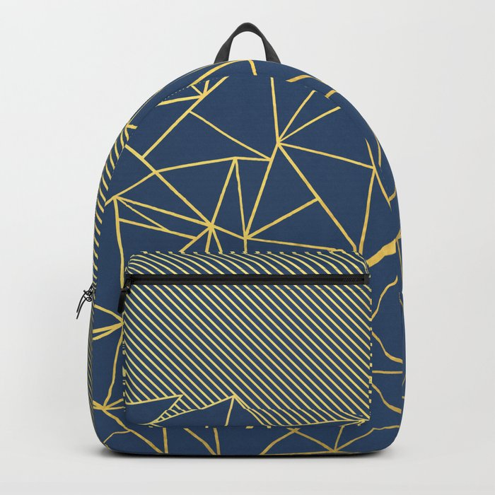 Ab Lines 45 Navy and Gold Backpack