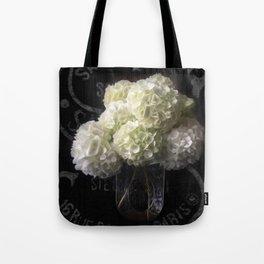 Snowball Viburnum Tote Bag