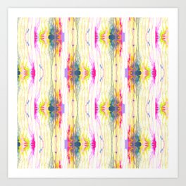 Melt Colors Series: Eye Art Print