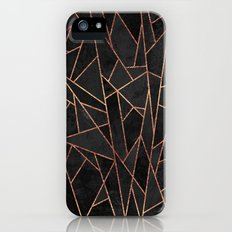 Shattered Black / 2 iPhone (5, 5s) Slim Case