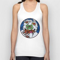 keith haring Tank Tops featuring Keith Haring Pig 1988  by cvrcak