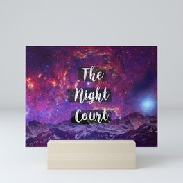The Night Court Mini Art Print