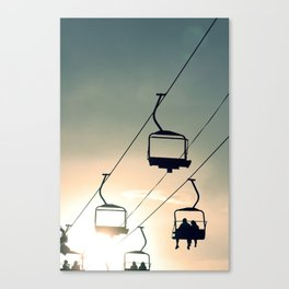 SUNSET LIFT Canvas Print