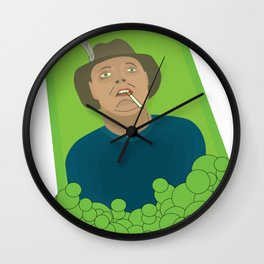 Abducted Wall Clock