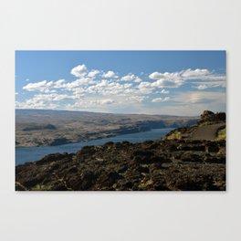 Columbia River Overlook Canvas Print