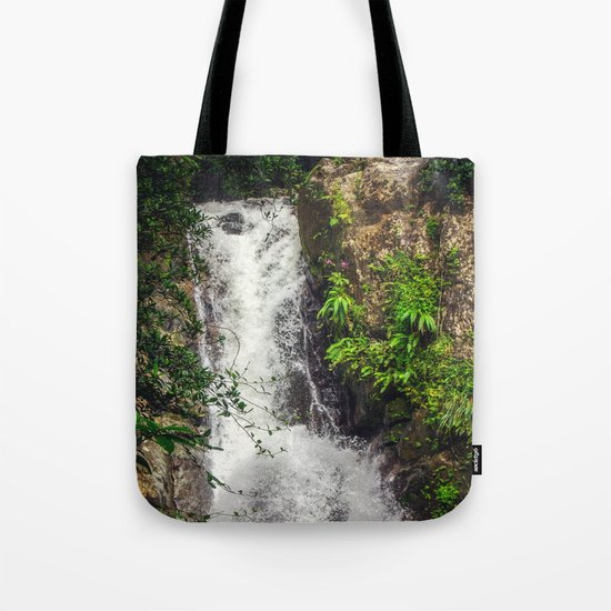Rainforest Waterfall Tote Bag
