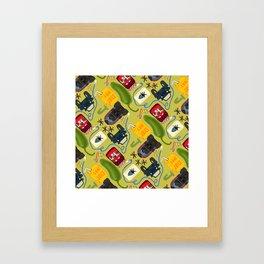 Jalepeno Juice Jam Framed Art Print